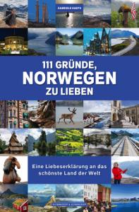 Cover Gabriele Haefs 111 Gründe Norwegen zu lieben