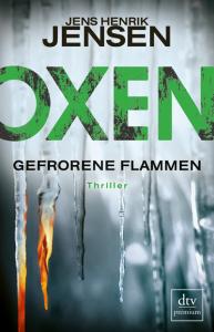 Cover Jens Henrik Jensen Oxen Gefrorene Flammen