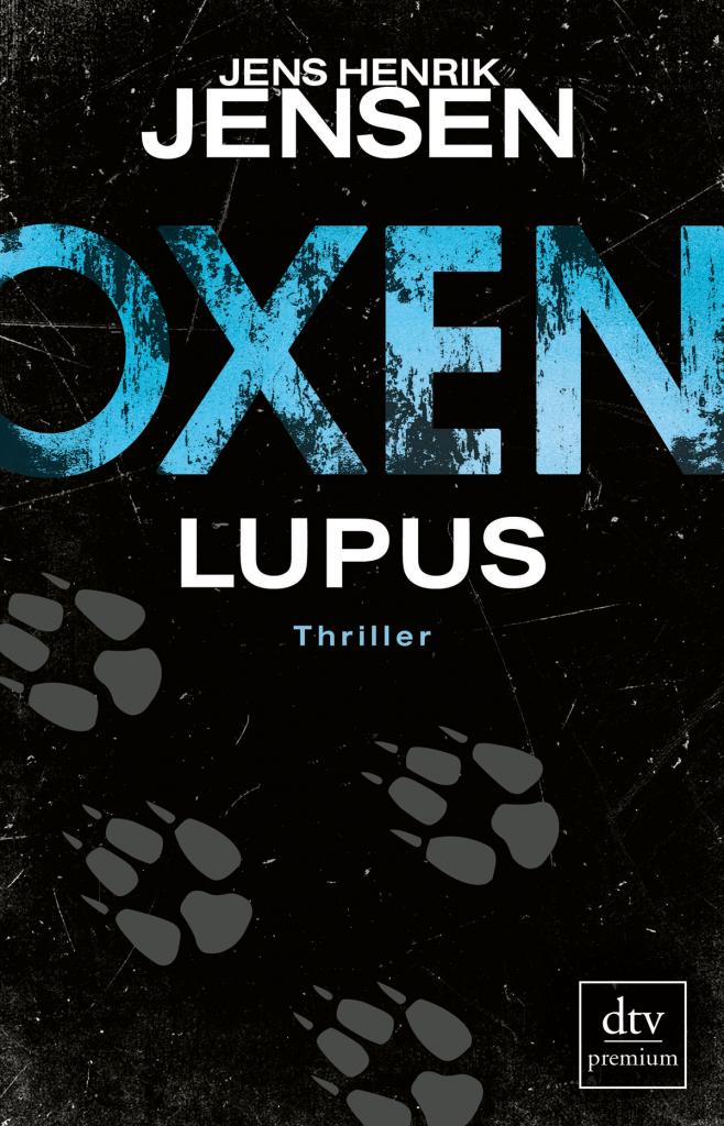 Cover Jens Henrik Jensen Oxen Lupus