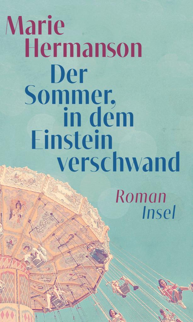 Cover Marie Hermanson, Der Sommer, in dem Einstein verschwand