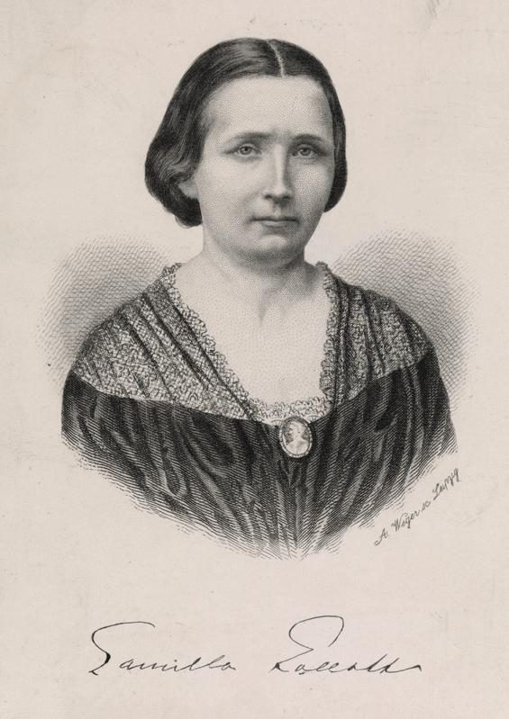 Camilla Collett um 1960